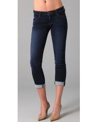 Hudson Jeans | Blue Bacara Stockport Cropped Straight-leg Jeans | Lyst