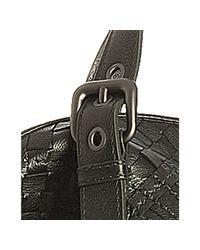 Bottega Veneta - Dark Green Leather Marcapunto Convertible Tote - Lyst
