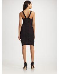 Leifsdottir | Black Ruched Dress | Lyst