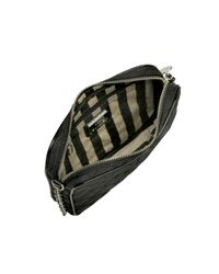 Lulu Guinness | Black Small Emily Quilted Lips Cross Body Bag | Lyst