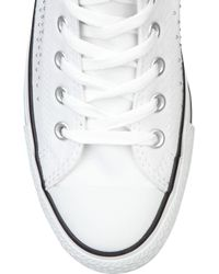 Converse | White Studded Canvas Sneakers | Lyst