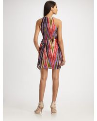Nanette Lepore | Purple Go Getter Dress | Lyst