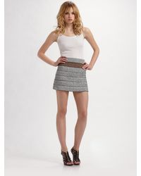 Pleasure Doing Business | Gray Raff Skirt | Lyst