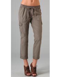 Joie - Green Generette Cargo Pants - Lyst