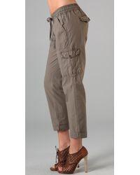 Joie | Green Generette Cargo Pants | Lyst