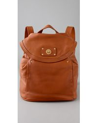 Marc By Marc Jacobs | Brown Totally Turnlock Backpack | Lyst