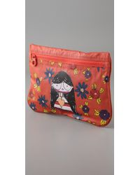 Marc By Marc Jacobs | Red Miss Marc Packables Zip Pouch | Lyst