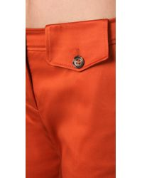 RED Valentino - Orange Wide Leg Pants - Lyst
