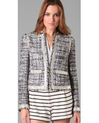 Tory Burch | Gray Demi Jacket | Lyst