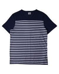 Acne | Blue Navy Breton T-shirt for Men | Lyst