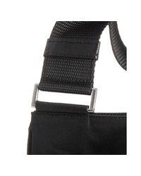 Prada - Black Nylon Viaggio Messenger Bag for Men - Lyst