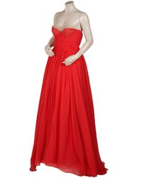 Jason Wu - Red Camilla Strapless Gown - Lyst
