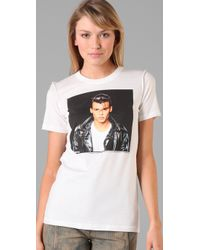 Dolce & Gabbana | White Johnny Depp Cry-baby Tee | Lyst