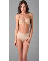 Spanx | Natural Bra-cha-cha Stay Put Strapless Bra | Lyst