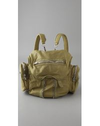 Alexander Wang - Yellow Marti Backpack / Shoulder Bag - Lyst