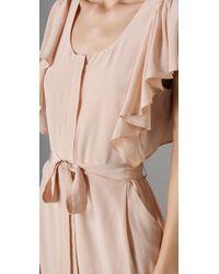 Club Monaco - Pink Tracey Dress - Lyst