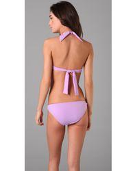 Lisa Curran - Purple Valencia Bikini Top - Lyst