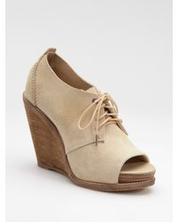 Rag & Bone | Natural Sunderland Lace-up Bootie | Lyst
