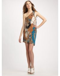 VPL | Multicolor Overhang Dress | Lyst