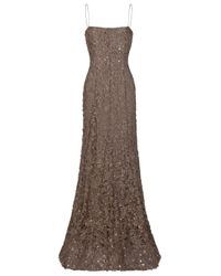 Eastland | Metallic Gown with Bead Detail | Lyst