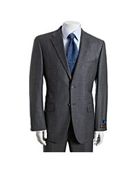 Joseph Abboud | Gray Grey Super 120s Loro Piana Wool 2-button Peter Suit with Flat Front Pants for Men | Lyst
