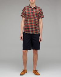 Penny Stock - Multicolor Plaid Penny Popover for Men - Lyst