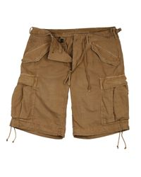Polo Ralph Lauren | Green Khaki Combat Shorts for Men | Lyst