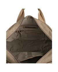 Andrew Marc - Natural Sand Canvas Gavin Briefcase for Men - Lyst