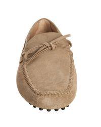Car Shoe - Natural Desert Suede Castoro Moccasin Loafers for Men - Lyst