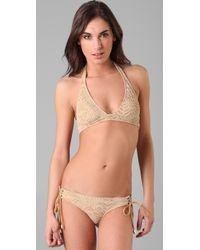 Inca | Natural Francis Bikini Top | Lyst