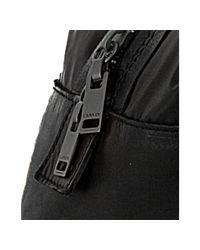 Lanvin - Black Nylon and Leather Duffel Bag for Men - Lyst