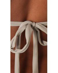 Mikoh Swimwear - Natural Barbados Bikini Top - Lyst