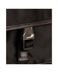Prada - Black Nylon Messenger Bag for Men - Lyst