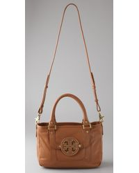 Tory Burch - Brown Amanda Leather Hobo - Lyst
