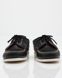Quoddy | Black Maliseet Oxford in Leather for Men | Lyst