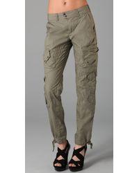 RLX Ralph Lauren | Green Carbon Terrain Pants | Lyst