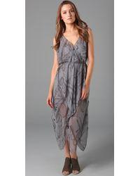 Vena Cava | Gray Aldo Hankerchief Dress | Lyst