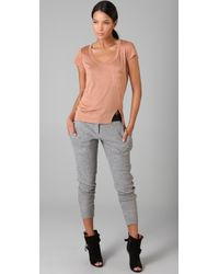A.L.C. - Gray Trouser Sweatpants - Lyst