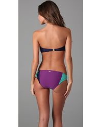 Camilla & Marc - Purple Salerno Bandeau Bikini - Lyst