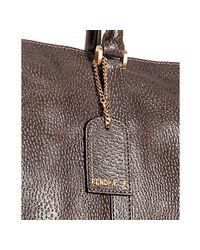 Fendi - Brown Leather Classico No. 5 Tote - Lyst