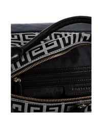 Givenchy - Black Logo Canvas Buggatti East-west Bag - Lyst