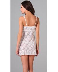 Hanky Panky - White Cross Dyed Chemise - Lyst