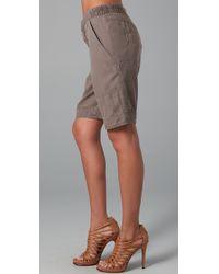 Nanette Lepore - Green Overtime Shorts - Lyst