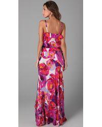 Nanette Lepore - Purple Rain Or Shine Skirt and Top Combo - Lyst