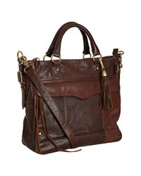 Rebecca Minkoff | Glazed Brown Leather Dear Tote Bag | Lyst