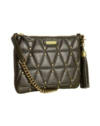 Rebecca Minkoff | Green Olive Leather Quilted Rocker Small Shoulder Bag | Lyst