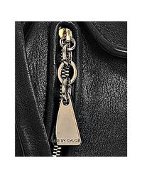 See By Chloé | Black Leather Zip and Tassel Crossbody Bag | Lyst