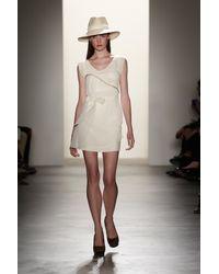 Erin Fetherston | White Cascade Dress | Lyst