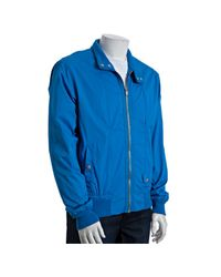 Marc By Marc Jacobs | Spring Sky Blue Cotton Harrington Zip-up Jacket for Men | Lyst