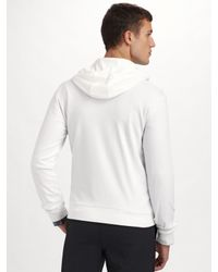 Theory - White Humphreys Hoodie for Men - Lyst